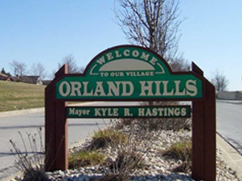 garage door repair service in Orland Hills, IL